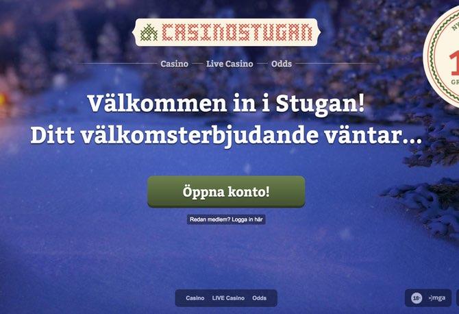 Casinostugan Screen