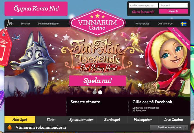 Vinnarum Casino Web